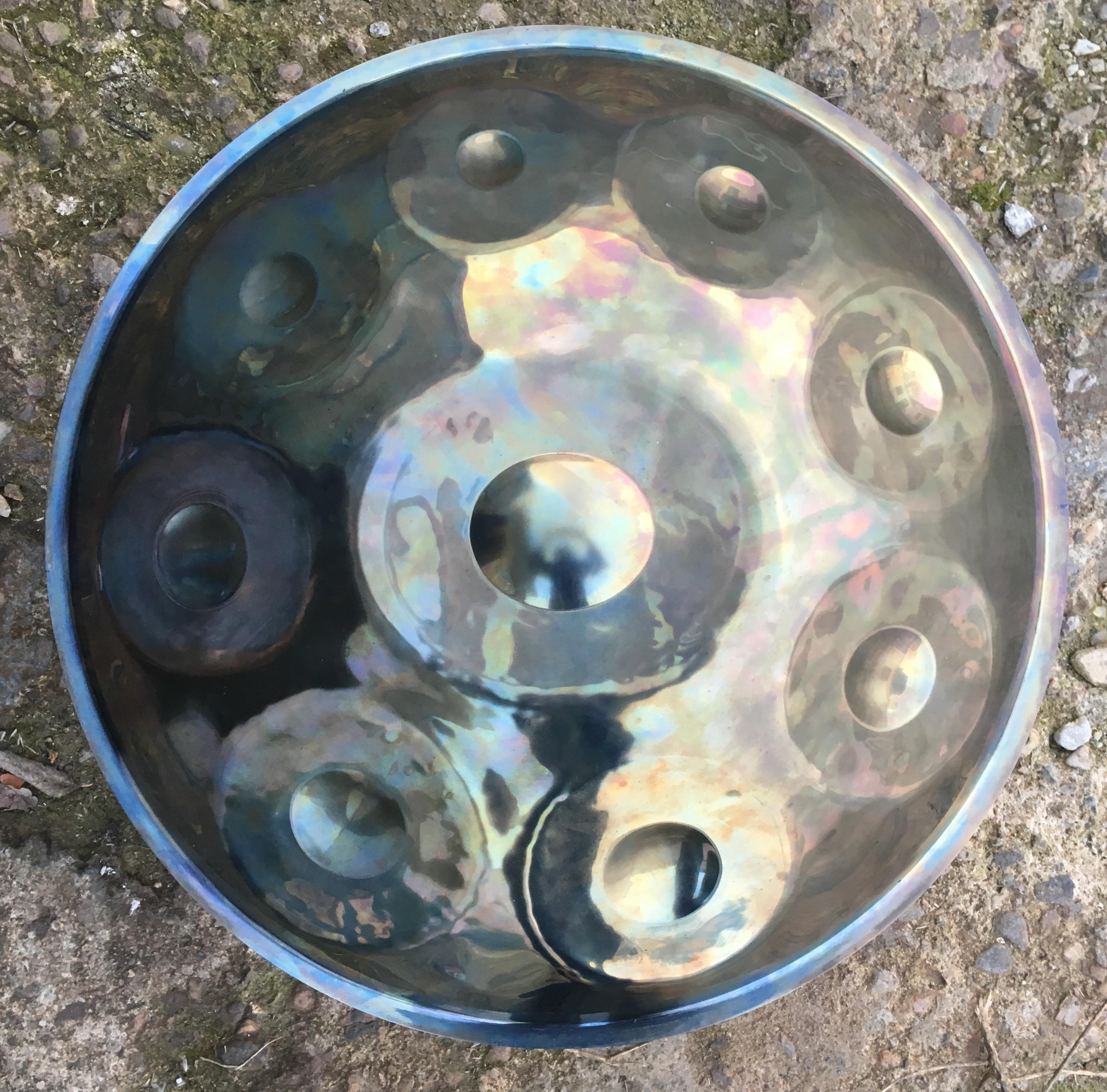 handpan (D) Kurd 8 Inox