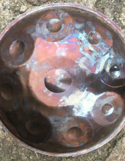stainless steel handpan Hijaz